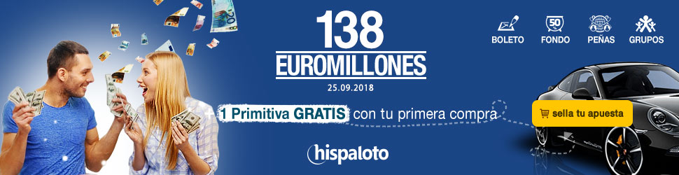 Euromillones bote 130 millones