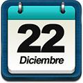 22 de diciembre