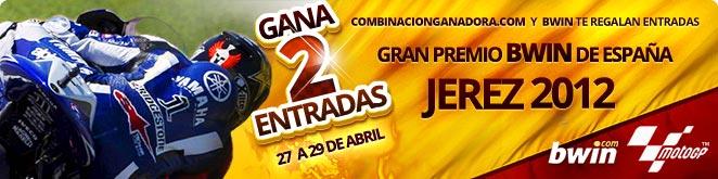 2 ENTRADAS PARA EL GRAN PREMIO BWIN DE ESPAÑA