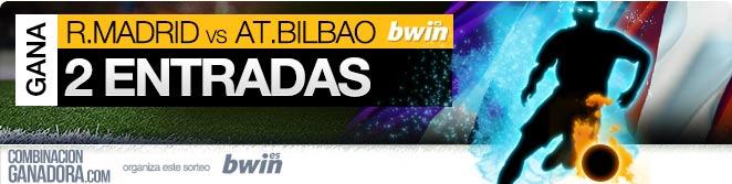 GANA 2 ENTRADAS  ENTRADAS VIP PARA REAL MADRID - AT.BILBAO, 5 de OCTUBRE