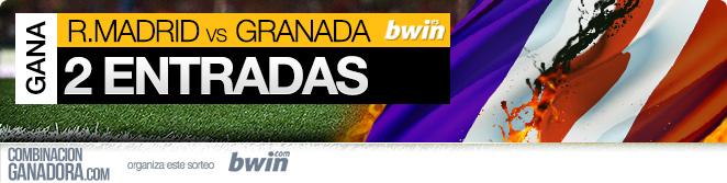 GANA 2 ENTRADAS  ENTRADAS VIP PARA REAL MADRID - GRANADA, 5 de ABRIL