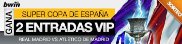 2 entradas VIP Super Copa de España Real Madrid vs. Atlético de Madrid