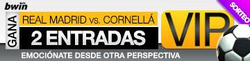 Promoción de 2 entradas VIP para Real Madrid - Cornellá de Copa del Rey