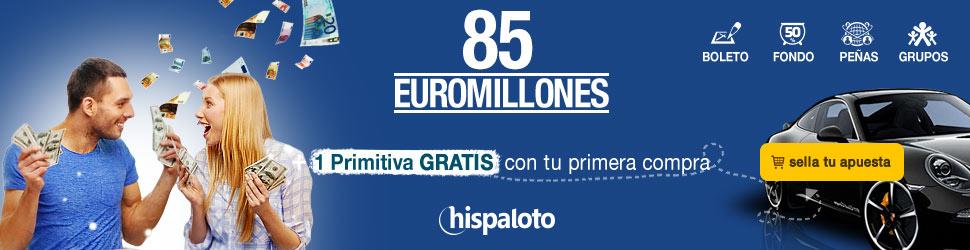 Bote 85 millones en euromillones
