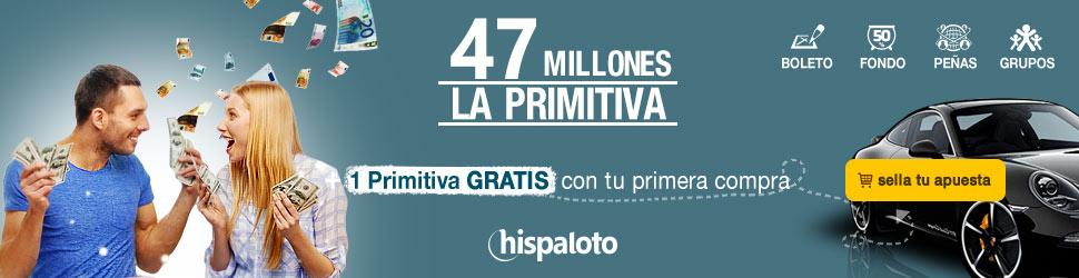 Primitiva bote 42 millones