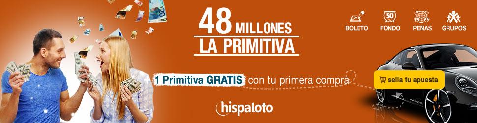 Primitiva bote 48 millones