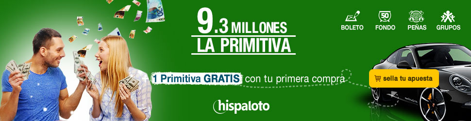 Bote 9.3 millones en Primitiva