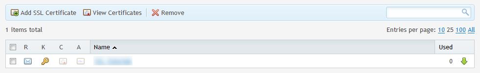 Instalar SSL en Plesk
