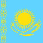 Escudo de KAZAJISTÁN